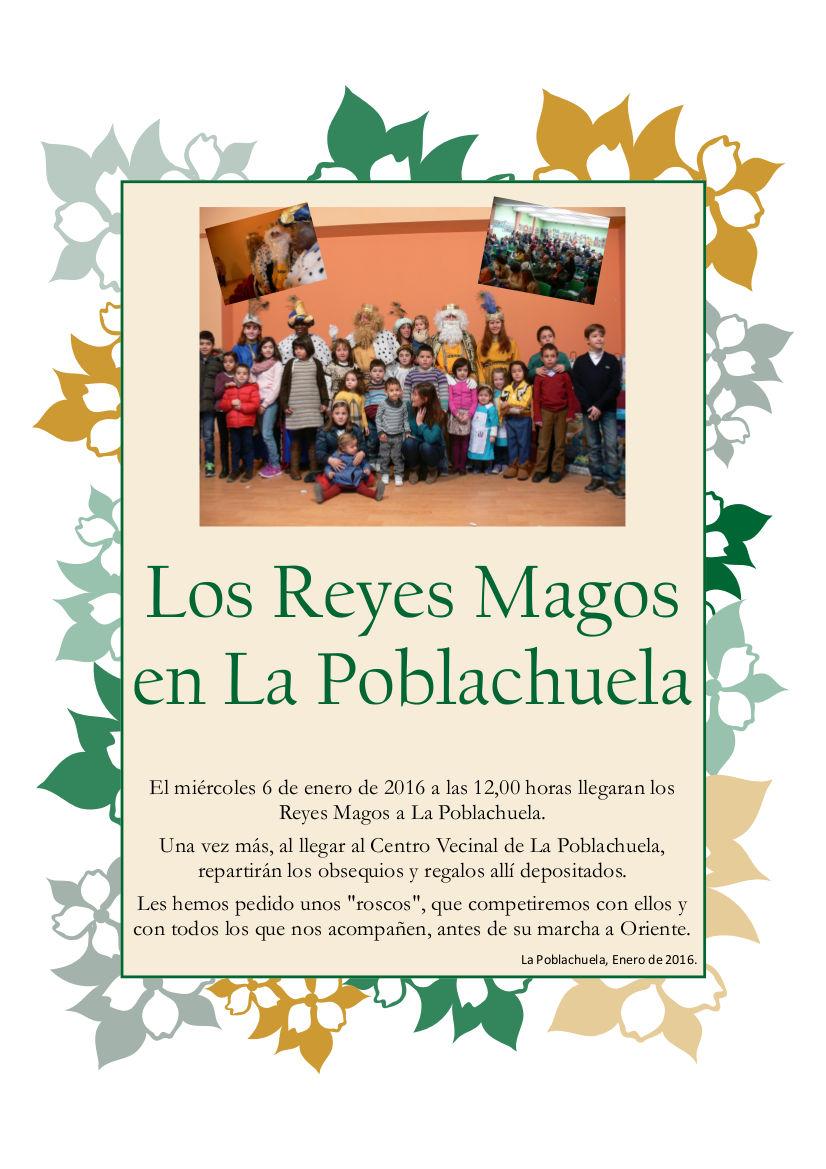 Cartel Reyes Magos 2016